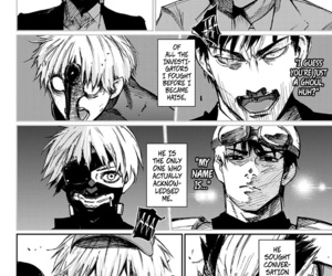 tokyo ghoul and tokyo ghoul:re image