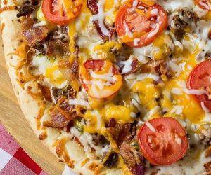 pizza and cheeseburger image