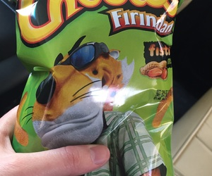 food, cheetos, and snack image