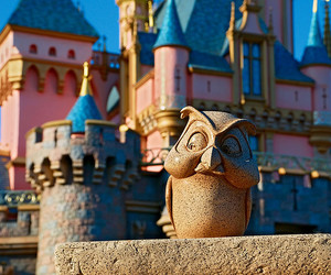 disney, owl, and castle image