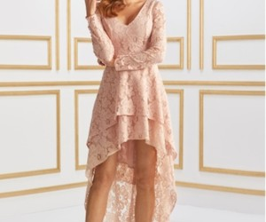 ładne, sukienka, and koronka image