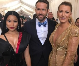 nicki minaj, met gala, and blake lively image