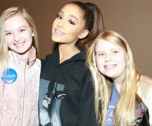 ariana, meet and greet, and dangerous woman image