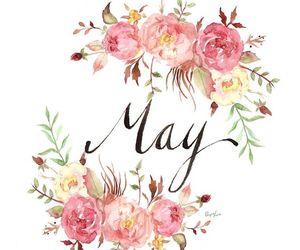 art, may, and spring image