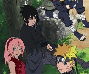 kakashi, naruto, and sakura image