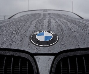 bmw, black, and car image