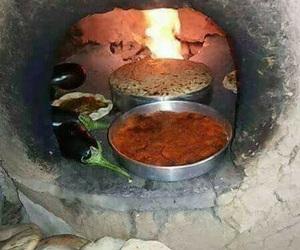 yemek, turkish bread, and ateş image