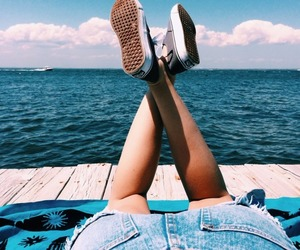 relax, shoes, and summer image
