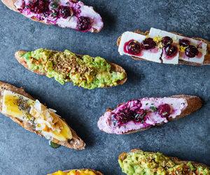 avocado, bread, and food image