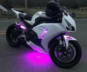 motorbike, motorcycle, and bike image