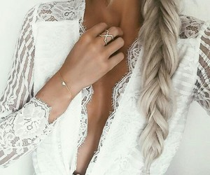 hair, luxury, and outfit image