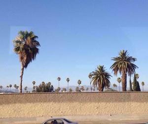 america, blue skies, and cali image