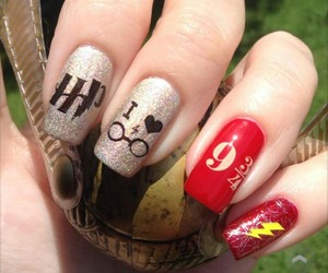 fashion, manicure, and pedicure image