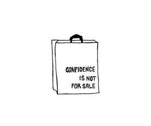 bag, confidence, and doodle image