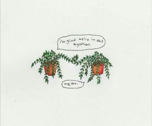 plants, quotes, and art image