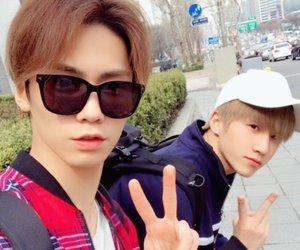 kpop, rocky, and jinjin image