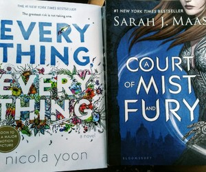 books, sarah j. mass, and a court of mist and fury image