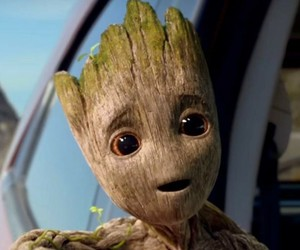 Marvel, groot, and peter quill image