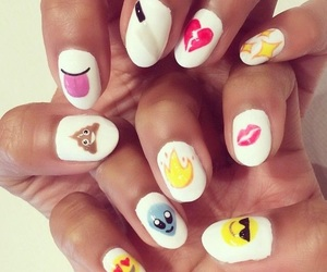 nails and emoji image