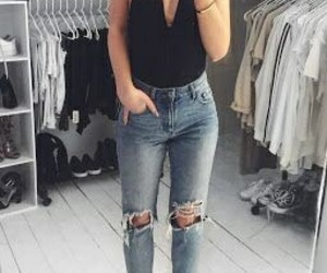 fashion, outfit, and spring fashion image
