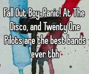 alternative, bands, and fall out boy image