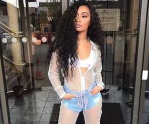 leighloves, fashion, and curlyhair image