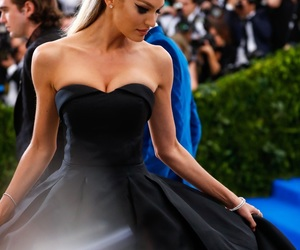 met gala, candice swanepoel, and dress image