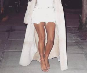coat, white, and duster image