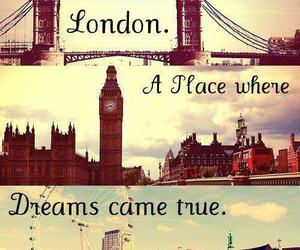 london, Dream, and place image