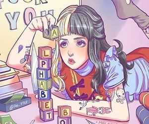 melanie martinez, alphabet boy, and draw image