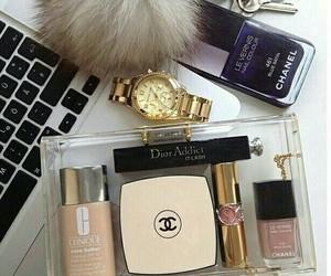 make up, perfumes, and maquillaje image