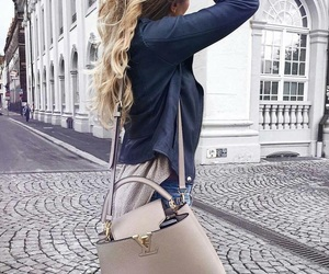 bags, beauty, and curls image