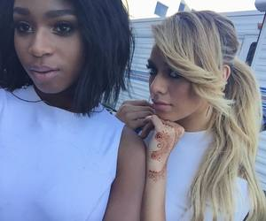 normani kordei, dinah jane, and fifth harmony image