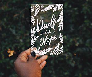 bible, calligraphy, and faith image