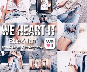 blue, search, and we heart it search image