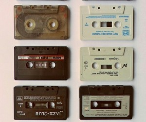 80s, cassettes, and tapes image