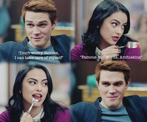 Archie, riverdale, and veronica image