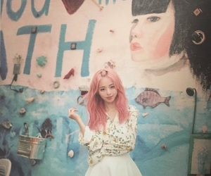 chinese, kpop, and loona image