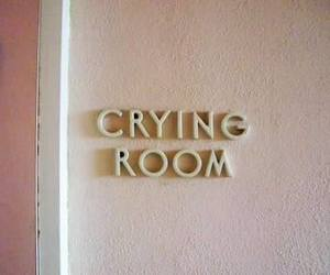 room, aesthetic, and cry image
