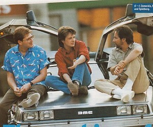 Back to the Future, michael j fox, and Spielberg image