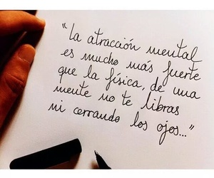 love, attraction, and frases image