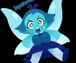 aquamarine and steven universe image