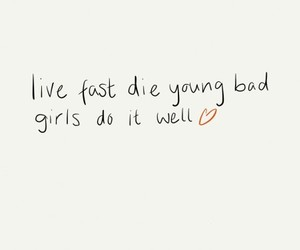 bad girls, die, and live image