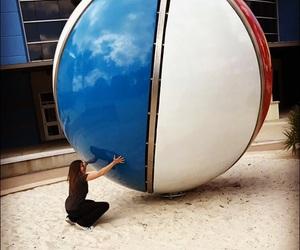 beach ball, panama city, and florida image