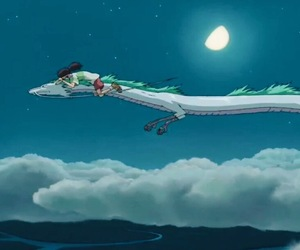 animation, chihiro, and Hayao Miyazaki image