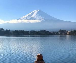 discover, japan, and lake image