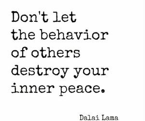 quotes, peace, and dalai lama image