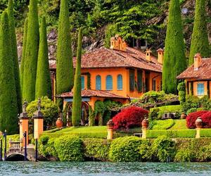 italy, house, and green image