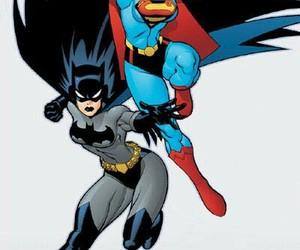art, batman, and cartoons image