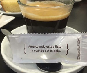 frases, love, and coffee image